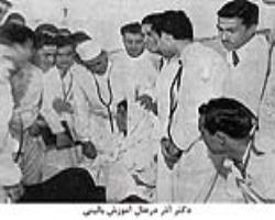 دکتر مهدی آذر، پایهگذار طب داخلی در ایران