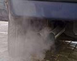 شعلهور شدن نشانههای تنفسی با سوخت موتورهای دیزلی